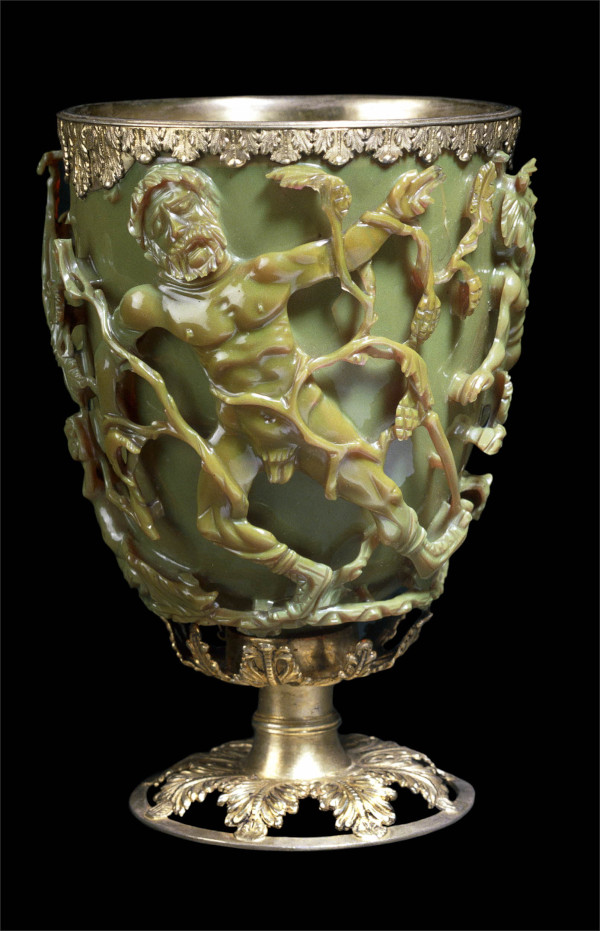 image of the lycurgus cup